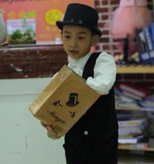 第六期封面宝宝+天熠+我是小小魔术师